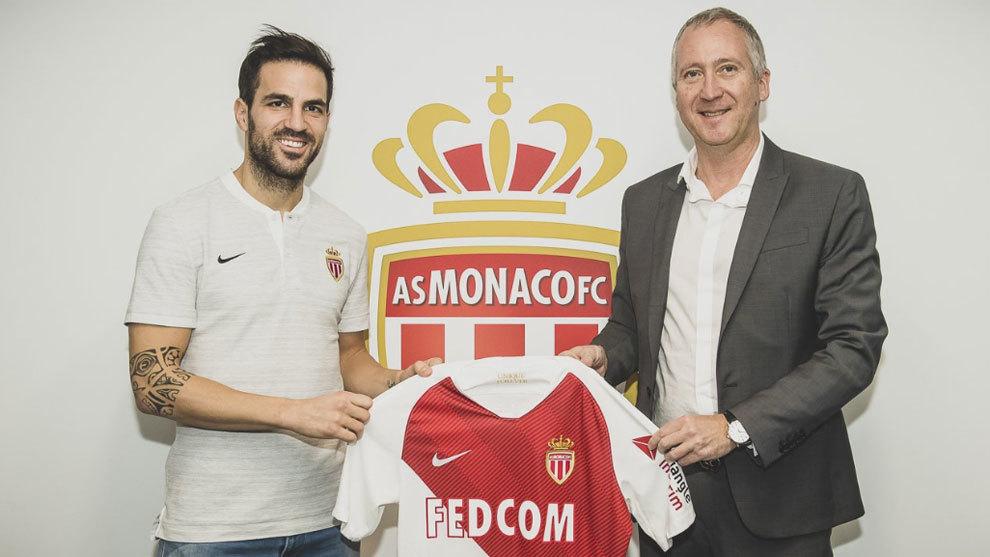 Resmi Cesc Fabregas Gabung Bermain Bersama Monaco