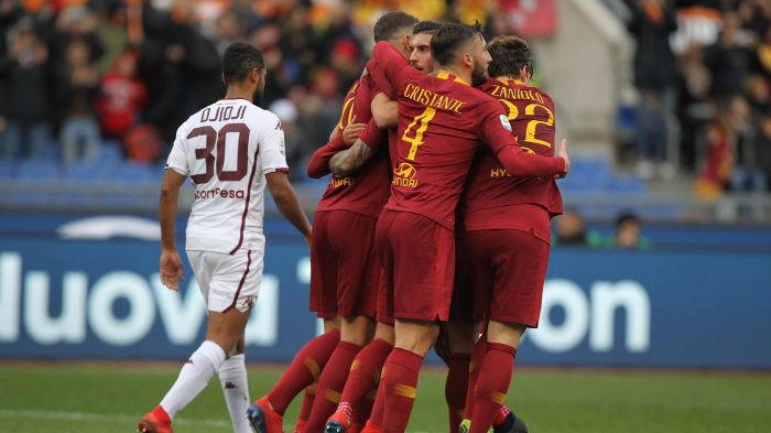 Hasil Pertandingan AS Roma Vs Torino Skor 3-2
