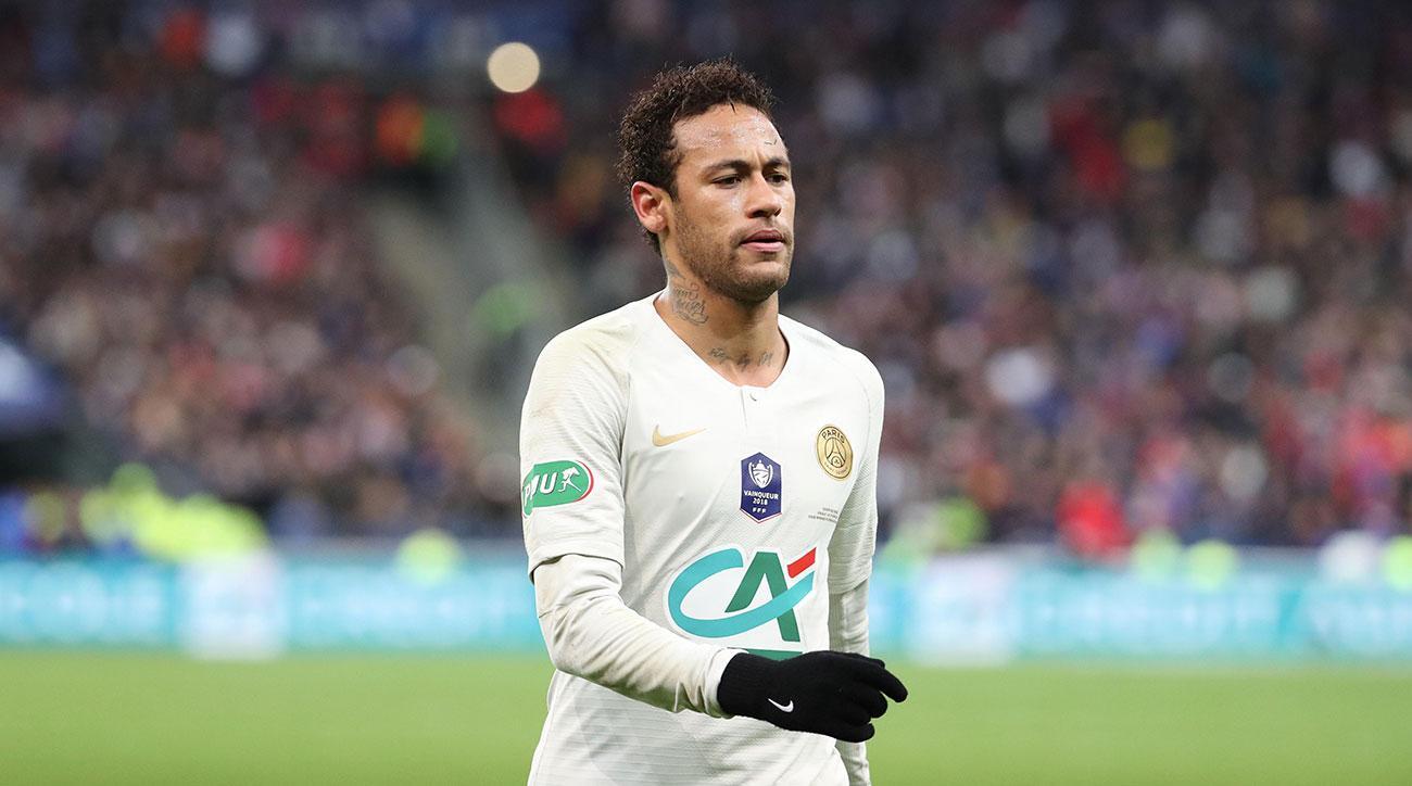 Neymar Mengamuk Saat PSG Kalah Di Final Piala Prancis