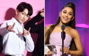 Foto Bareng Ariana Grande, Jungkook BTS Bikin Fans Menjadi Heboh