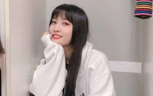 Baju Momo Twoce Hampir Terlepas Saat Membawakan Lagu ' Fancy ' Di SBS Inkigayo Super Concert