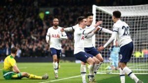Jose Mourinho Mengatakan 'Semangat Keluarga' Tottenham Adalah Kunci Dalam Kemenangan 2-1 Atas Norwich