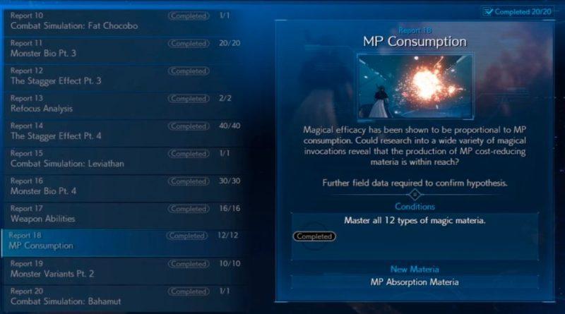Bagaimana Untuk Menyelesaikan MP Consumption Cepat Di Final Fantasy 7 Remake